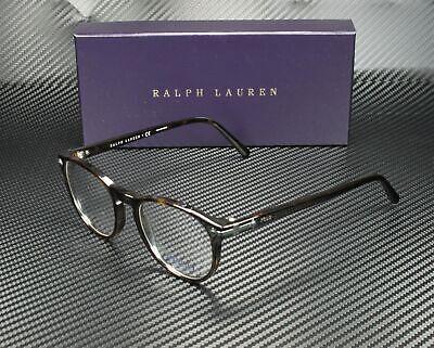 RALPH LAUREN POLO PH2150 5003 Shiny Dark Havana Demo Lens 49 mm Men's Eyeglasses