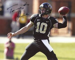 TANNER-PRICE-WAKE-FOREST-SIGNED-8X10-PHOTO-W-COA