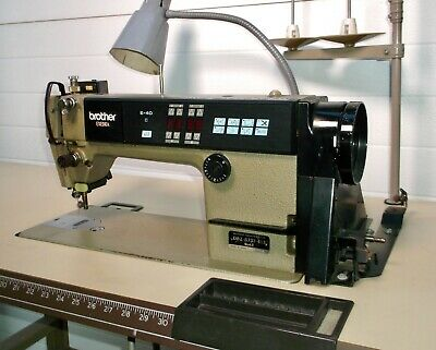 Brother Industrial Sewing Machine Exedra E-40 Mark Ii Db2-b737-413 Wtable