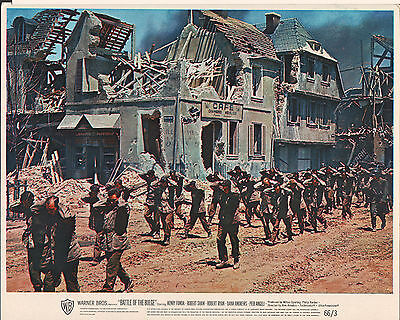 """Battle of the Bulge 1966 8x10"""" color movie photo #nn"""