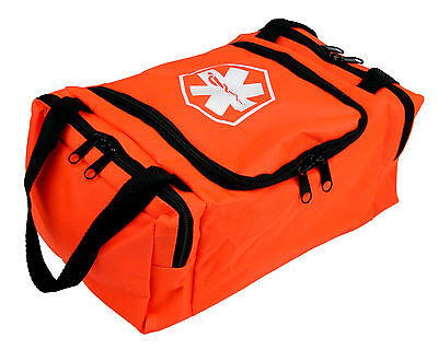 Dixie Ems First Responder Emt Jump Trauma Bag - Orange 10.5x 5 X 8