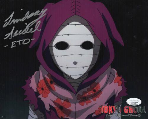 "Lindsay Seidel Autograph Signed 8x10 Photo - Tokyo Ghoul ""Eto"" (JSA COA)"
