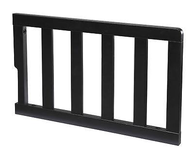 Delta Children Toddler bed conversion Guardrail BLACK guard rail 0081-001 CRIB