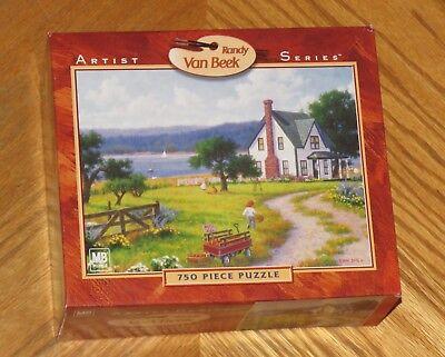 Randy Van Beek Art - Apples for Sale - 750 Pc Puzzle 18x24 - Sealed
