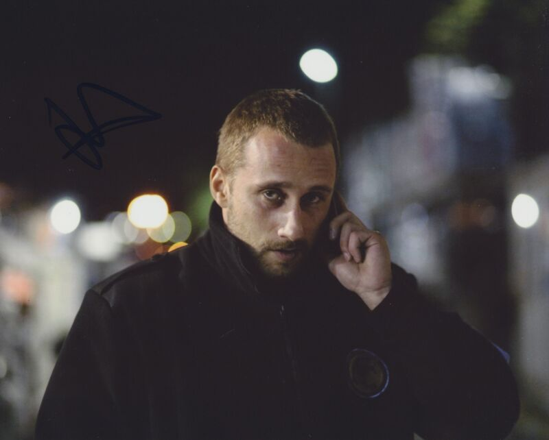 MATTHIAS SCHOENAERTS SIGNED RUST AND BONE 8X10 PHOTO