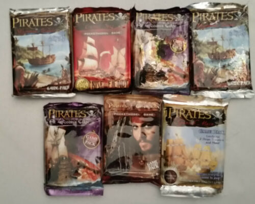 Wizkids Pirates of the Spanish Main 5 Pack Lots Various Sets Available