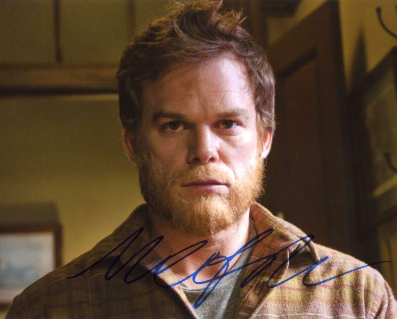 "Michael C. Hall ""Dexter"" AUTOGRAPH Signed 8x10 Photo B ACOA"