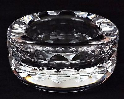Beautiful Kosta Boda Heavy Crystal Bowl, Signed and Numbered By Goran Warff