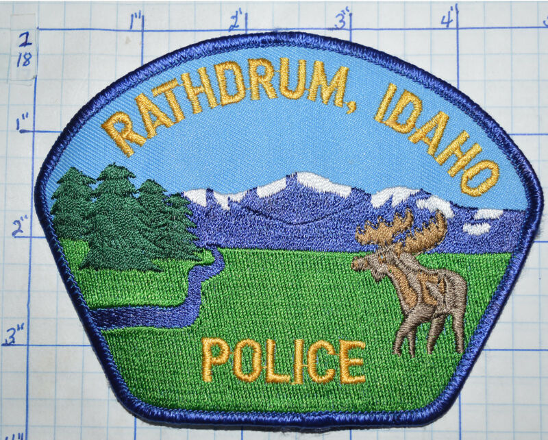 IDAHO, RATHDRUM POLICE DEPT PATCH
