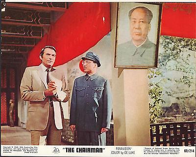 "The Chairman 1969 8x10"" color movie photo #nn"