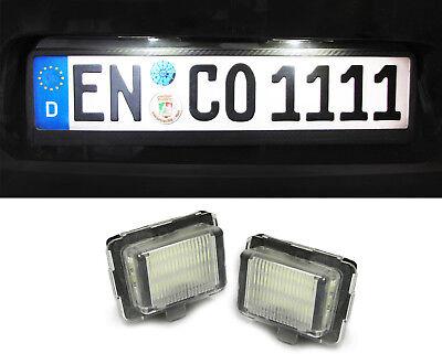 LED Kennzeichenbeleuchtung weiß 6000K für Mercedes W204 W212 W221 C216 C218 R231