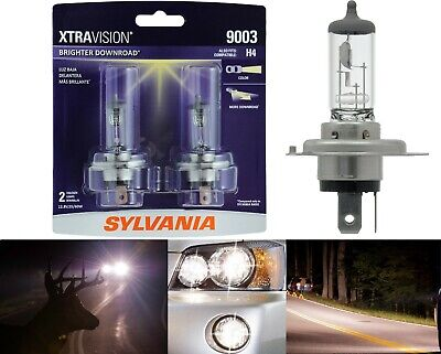 Sylvania Xtra Vision 9003 HB2 H4 60/55W Two Bulbs Head Light Replacement Hi Low