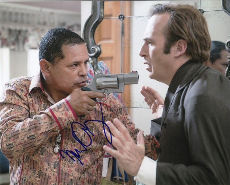 RAYMOND CRUZ signed *BREAKING BAD* TUCO SALAMANCE 8X10 TV SHOW photo W/COA #1