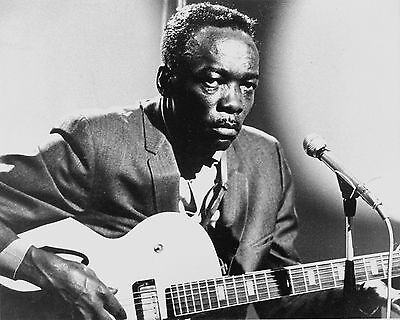 JOHN LEE HOOKER 8X10 GLOSSY PHOTO PICTURE IMAGE #2