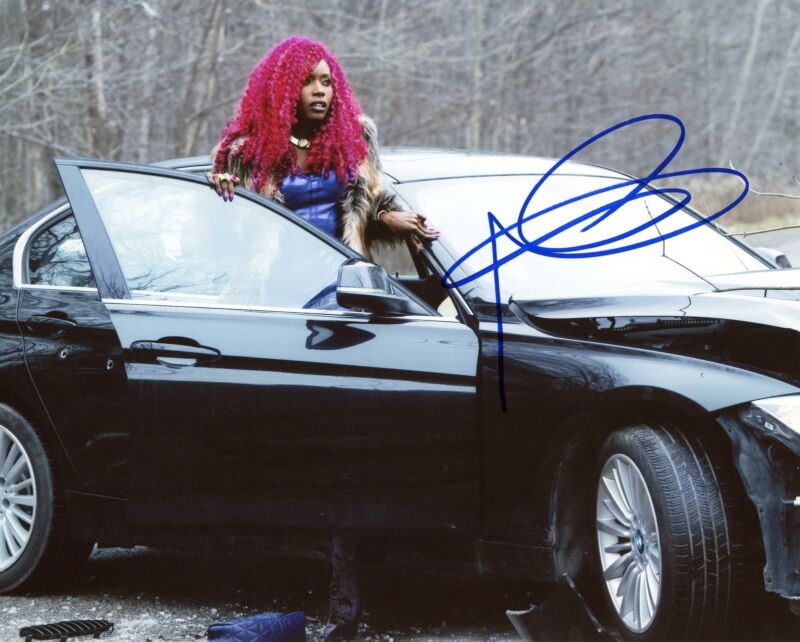 "Anna Diop ""Titans"" AUTOGRAPH Signed 8x10 Photo D ACOA"