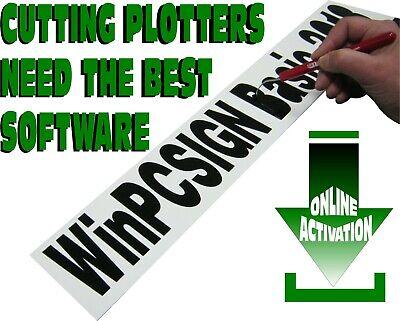 Winpcsign Basic 2018 Cutting Software For Vinyl Cutter Plotter Downloadable