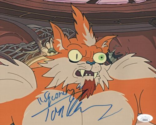 TOM KENNY Rick And Morty SQUANCHY Signed 8x10 Photo Autograph JSA COA Cert