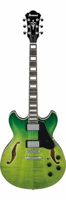 Ibanez AS73FM Artcore Series Hollowbody Green Valley Gradation Electric Guitar, used for sale  Shipping to Canada