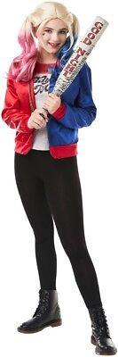 Mädchen Teen Harley Quinn Superhelden Comic Büchertag Kostüm Kleid - Teen Mädchen Superhelden Kostüm