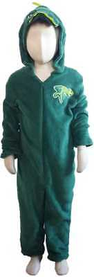 Dinosaur Onesie Costume (Dinosaur 1Onesie Childrens Kids Sizes Animal T-Rex Dress Up Role Play Costume)
