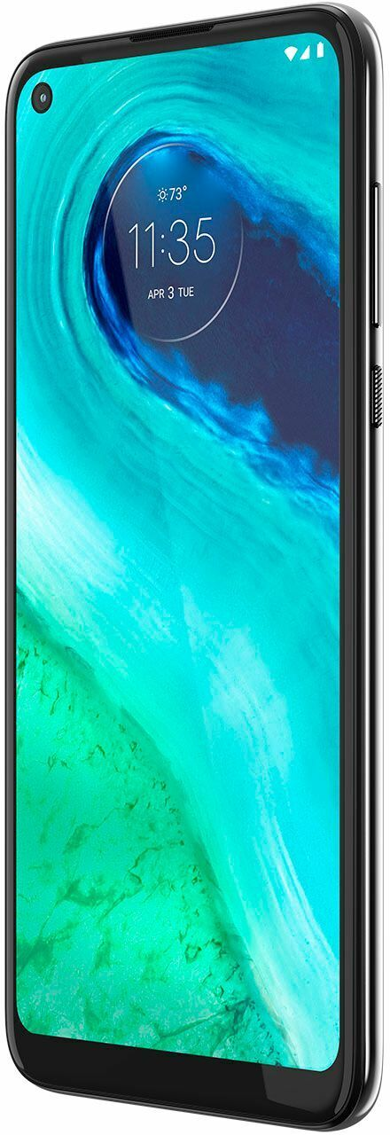 Motorola - moto g Fast with 32GB Memory Cell Phone (Unlocked) - Pearl White (new
