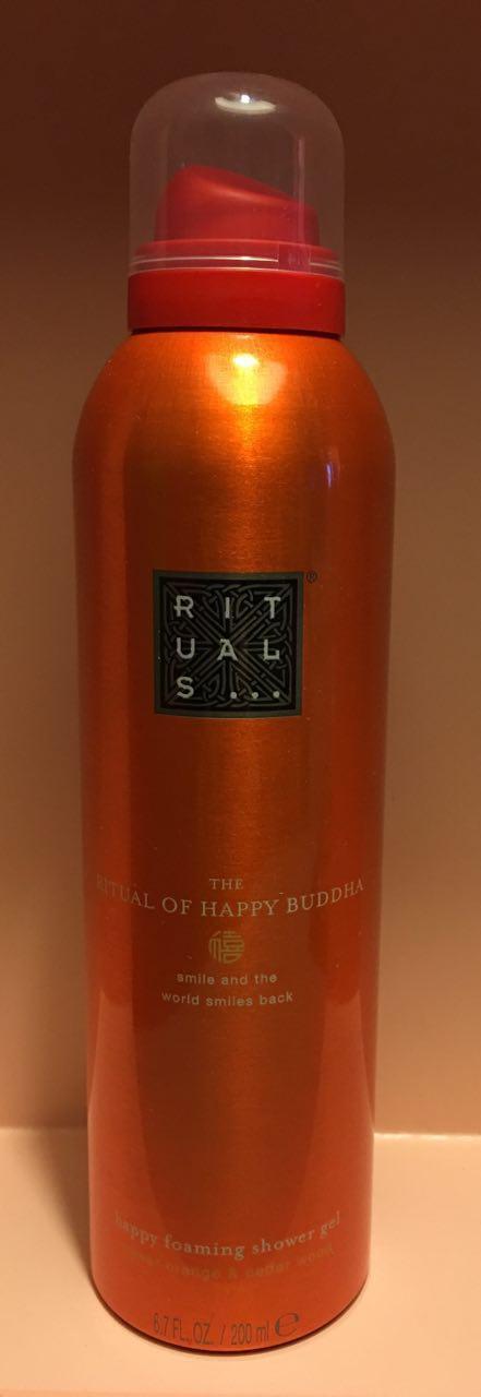RITUALS Ritual of HAPPY BUDDHA Duschschaum happy foaming shower gel 200 ml