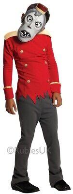 Boys Zombie Bell Hop Boy Hotel Transylvania Halloween Fancy Dress Costume - Bell Boy Fancy Dress Kostüm