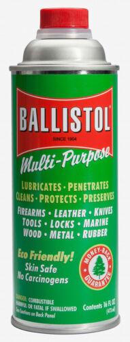 BALLISTOL MUTI-PURPOSE OIL CLEANS PENETRATES  NON-AEROSOL (1-16oz cans)