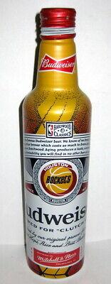 2021 Budweiser & Mitchell & Ness - Aluminum Beer Bottle - NBA HOUSTON ROCKETS