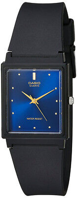 Casio Men's Analog Quartz Black Resin Watch MQ38-2A
