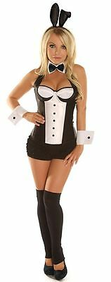 Daisy Corsets Sexy Tuxedo Bunny Women's Exotic Costume X Large Ships next day](Next Day Shipping Costumes)