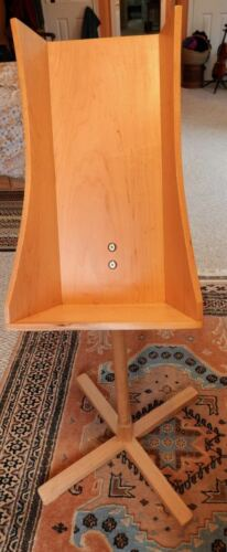 Hand-Made Wooden Great Highland Bagpipe Stand