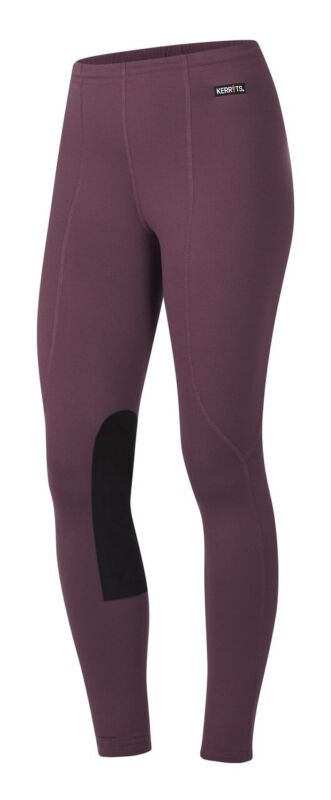 Kerrits Kids Knee Patch Performance Tight - Rosewood