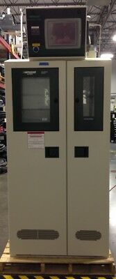 Praxair 3-bottle Gas Cabinet With Surepurge 1500 Controller