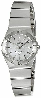 Omega 123.10.24.60.05.001 Constellation 24mm Steel Women's MOP dial Watch