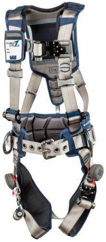 3M DBI-SALA ExoFit STRATA Positioning Harness 1112536 - Grey - Blue - Med
