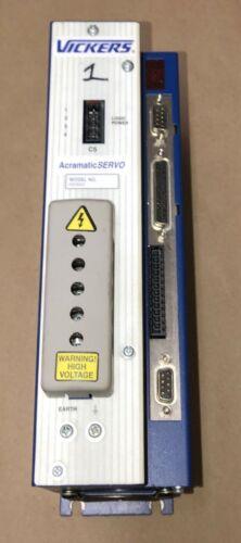 VICKERS AS06300 ACRAMATIC SERVO AMPLIFIER DRIVE CINCINNATI MILACRON