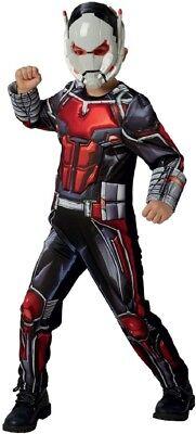 Jungen Luxus Ant-Man Marvel Avengers Film Superheld Kostüm Kleid Outfit (Ant Man Film Kostüm)
