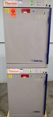 Thermo Electron Napco 6000 Co2 Incubator Water Jacketed Double Stack Calibrated
