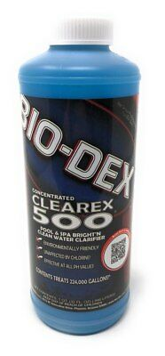 Bio Dex Laboratories Clearex 500 Water Clarifier  32 Oz