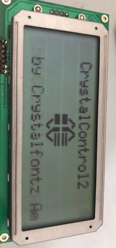 CRYSTALFONTZ CFA634YFH KS LCD PANEL DISPLAY (RS-232/ DB9 connector)