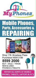 MYPHONEZ ALL REPAIRS Punchbowl 2196 Canterbury Area Preview