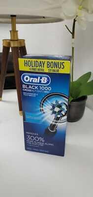 Электрическая зубная щетка Oral-B 1000 CrossAction, цвет черный