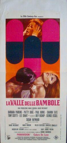 VALLEY OF THE DOLLS Italian locandina movie poster SHARON TATE DRUGS 1967