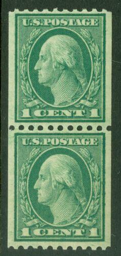 EDW1949SELL USA 1915 Scott 448 Coil Pair. Fine-Very Fine, Mint NH. Cat 40.00 - $17.99