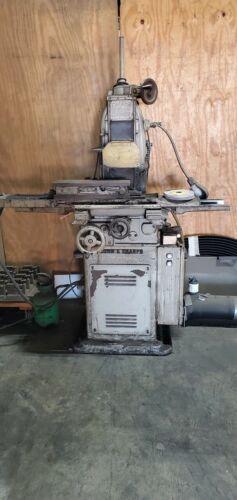 Brown & Sharpe 2LB Surface Grinding Machine Grinder Magnetic Chuck