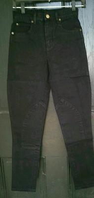 NEW PALE HORSE DESIGNS Black Stretch Denim Slim Fit Riding Jeans Pants 24 - Horse Riding Pants