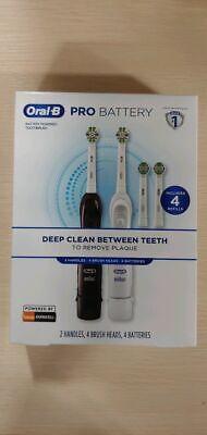 فرشاة أسنان Oral-B Pro Advantage تعمل بالبطارية - عبوتان