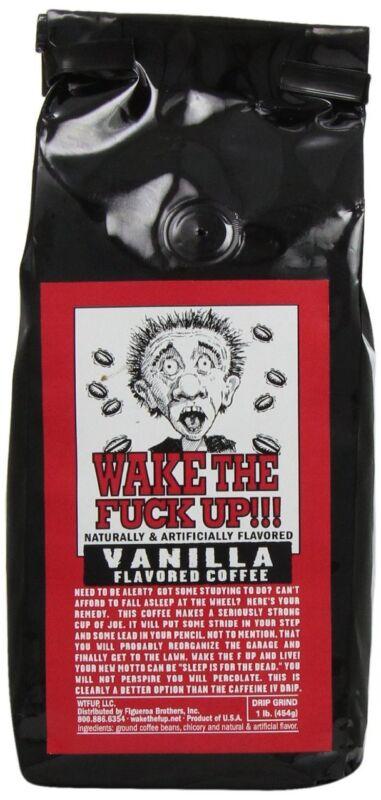 WAKE THE F*@K UP COFFEE - Vanilla