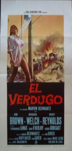 100 RIFLES Italian Locandina movie poster RAQUEL WELCH JIM BROWN BURT REYNOLDS